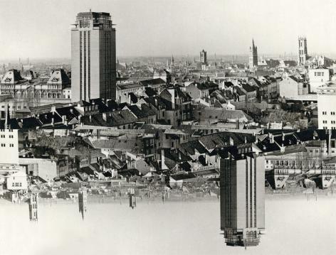 Campagnebeeld Stamtentoonstelling Stad en Universiteit. Sinds 1817.