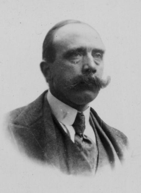 De ingenieur en verzetsheld Henri-Jozef De Clercq (1875-1933) doceerde elektriciteit aan de UGent vlak voor en na de Eerste Wereldoorlog. (foto Familie De Clercq)