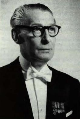 Emile Derom, foto liber memorialis 1960, universiteitsarchief Gent