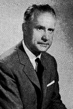 Jurist Jean Limpens (1910-1979) was als hoofd van het Interuniversitair Centrum voor Rechtsvergelijking een grondlegger van het rechtsvergelijkend onderzoek in België (Foto Liber Memorialis RUG, 1960)