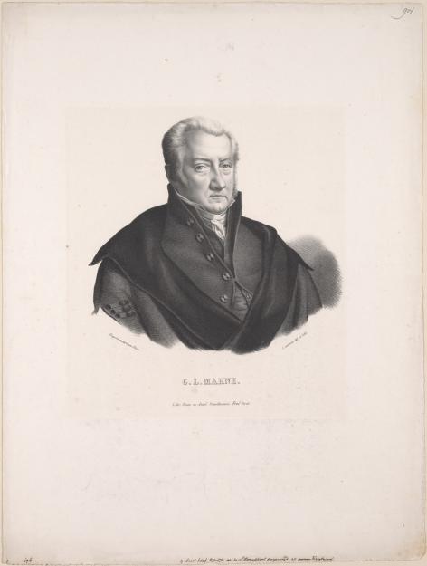 Willem-Leonard Mahne (1772-1852), © Universiteitsarchief Gent