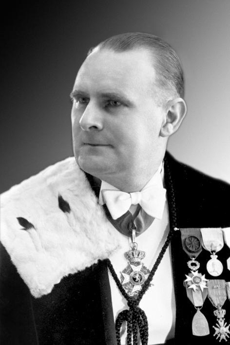 Edgard Blancquaert (1894- 1964), rector UGent 1944-1947, beheerder-inspecteur (1