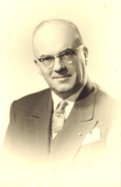 Portret van Charles Verlinden (1907-1996), professor aan de Faculteit L&W