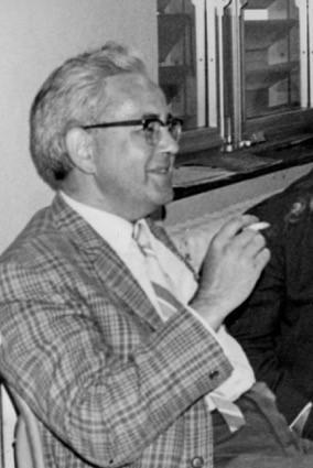 Chemicus Clement De Bruyne (1930-1996), in de jaren 1980 directeur van het Labor