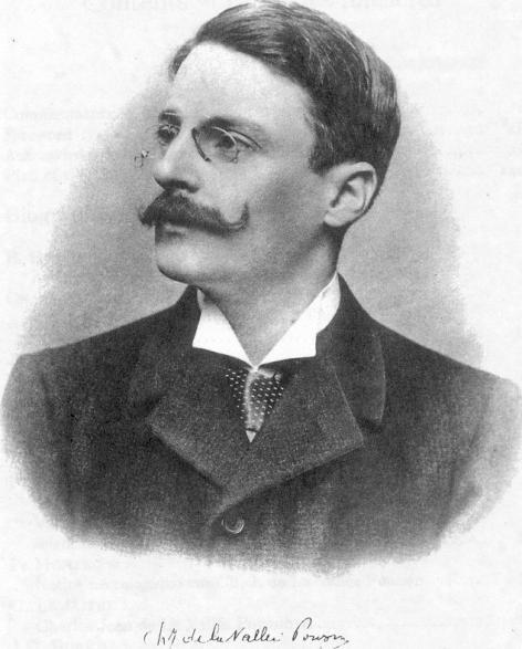 Portret van Louis de la Vallée Poussin (1869-1938) (Académie Russe des Sciences,
