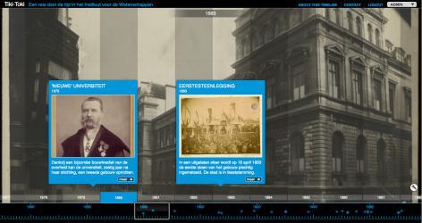 Een reis door de tijd in het Instituut voor de Wetenschappen (1883-2013)