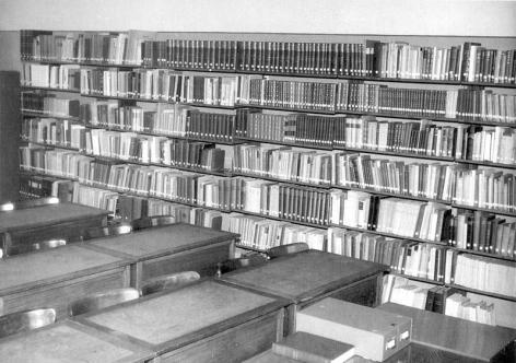 Het Seminarie voor Historische Pedagogiek van professor Robert Plancke (Collectie Universiteitsarchief Gent).