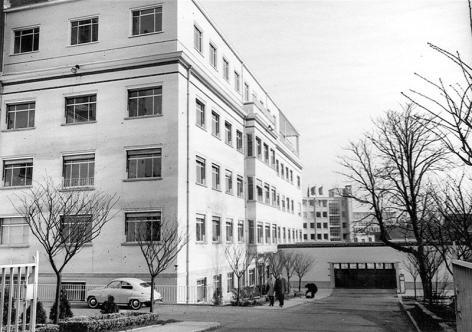In 1959 verhuisde het rectoraat van de Voldersstraat naar de