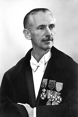 Chemicus Jan Gillis (1893-1978), rector van 1953 tot 1957, stortte zich ti zijn