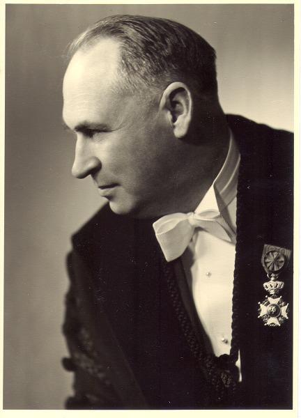 Psycholoog en hoogleraar Leo Coetsier (1908-1968).