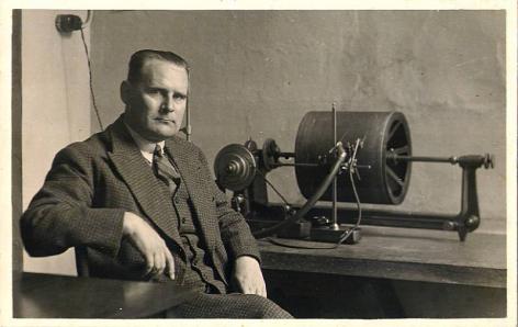 Edgard Blancquaert, hoogleraar aan de faculteit Letteren en Wijsbegeerte, rector in 1945-1946 en 1946-1947, beheerder-inspecteur en na 1954 regeringscommissaris (Collectie Universiteitsbibliotheek, © UGent).