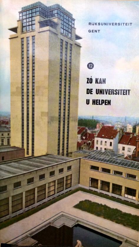 Onder rector Bouckaert in de jaren 1960 geeft de Dienst voor Studieadvies kleurr