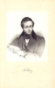Portret van hoofdbibliothecaris Auguste Voisin, ca. 1840 (Collectie Universiteit