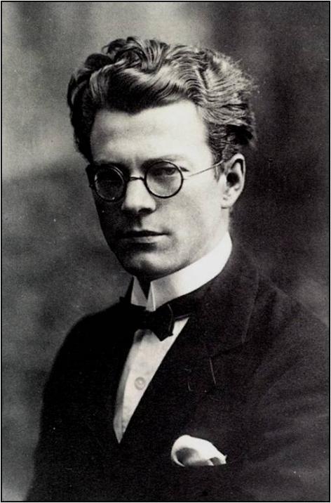 Portret van Frans Olbrechts, ca. 1922 (Collectie AMVC-Letterenhuis, Antwerpen)