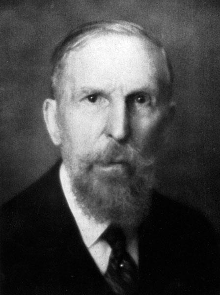 Franz Cumont, beroemd oudheidkundige en archeoloog (Collectie Universiteitsarchief Gent).
