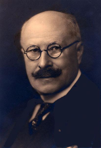 Georges Hulin de Loo, kunstwetenschapper en lesgever aan de Ecole des Hautes Etudes (Collectie Universiteitsarchief Gent).