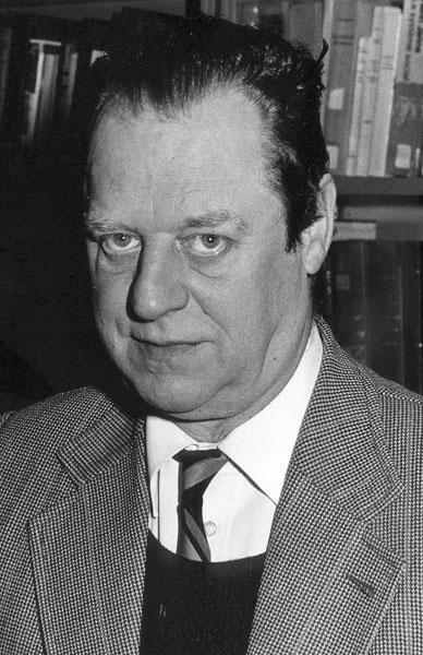Jacob (Jaap) Kruithof, wijsgeer (Collectie Universiteitsarchief Gent).