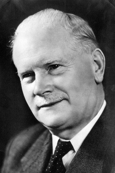 Gustave Magnel, ingenieur en hoogleraar aan de faculteit Wetenschappen (Collectie Universiteitsarchief Gent).