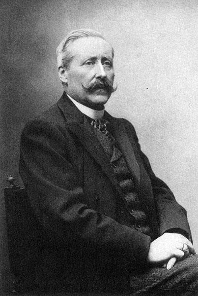 Adolphe Renard, hoogleraar aan de faculteit Wetenschappen (Collectie Universiteitsarchief Gent -  foto Héliotypie C. Aubry fils Bruxelles).