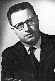 Portret van de jonge professor Robert Senelle