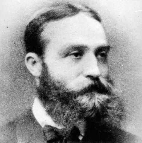 Wis- en natuurkundige François van Rysselberghe (Collectie Universiteitsarchief Gent).