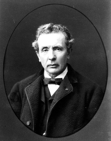 Auguste Wagener, hoogleraar aan de faculteit Letteren en Wijsbegeerte (Collectie Universiteitsarchief Gent).
