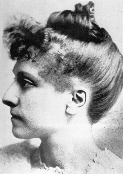 Sidonie Verhelst, de eerste vrouwelijke studente aan de Gentse universiteit (Collectie Universiteitsarchief Gent, P02416).