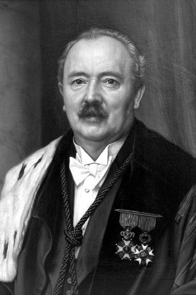Guillaume de Smet, hoogleraar aan de faculteit Wetenschappen en rector van de universiteit tijdens de Tweede Wereldoorlog (Collectie Universiteitsarchief Gent).
