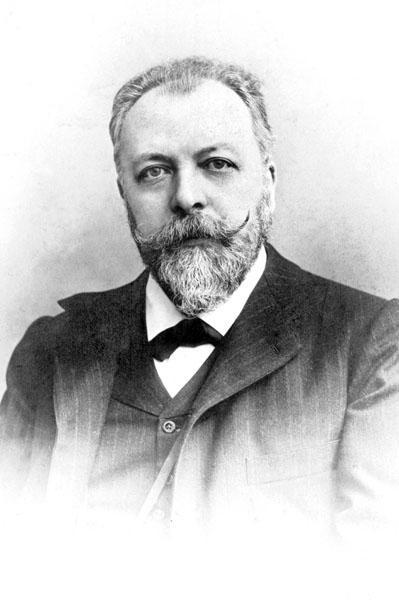 Historicus Paul Fredericq, kortstondig rector van de Gentse universiteit na de Eerste Wereldoorlog (Collectie Universiteitsarchief Gent).
