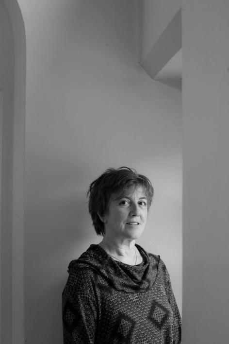 Beeldend kunstenares Chantal Pollier in het Rommelaere Instituut