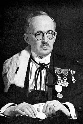 Portret van René Goubau (1886-1976), rector 1939/40 en 1940/41 (Collectie Univer