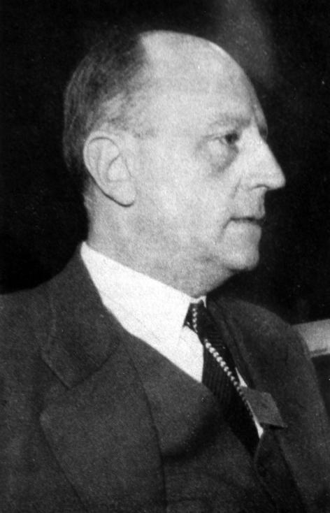 Portret van Frédéric Thomas (1906-1986), hoogleraar aan de faculteit Geneeskunde