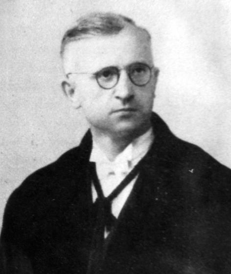 Portret van Hendrik Vanhouteghem (1902-1949), professor aan de faculteit Geneesk