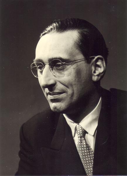 Portret van literatuurhistoricus Antonin Van Elslander (1921-1999), hoogleraar a
