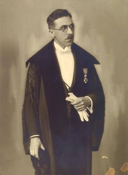 Robert Van Pottelbergh (1901-1982) was hoogleraar Grieks aan de faculteit Letter