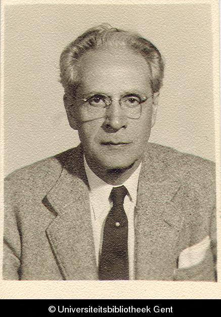 Pedagoog en hoogleraar Jozef Emiel Verheyen (1889-1962)