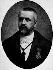Portret van Victor D'Hondt (1844-1901), hoogleraar aan de Rechtenfaculteit (Wiki