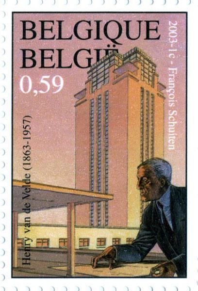 Van de Velde, Henry (1863-1957)   UGentMemorie