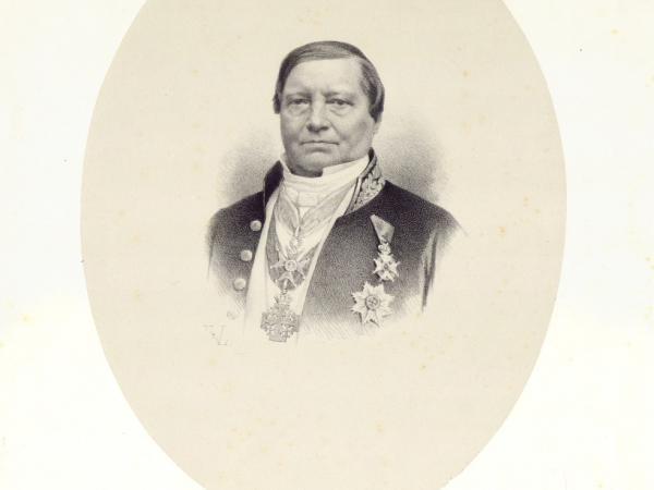 arts en hoogleraar UGent Joseph De Block (1806-1862) staat in de vuurlinie tijdens de cholera-epidemieën van 1832 en 1849, afbeelding UGentMemorialis
