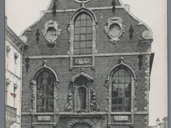 Kapucijnenkerk aan de Brabantdam in Gent, die in 1832 dient doet als cholera noodhospitaal