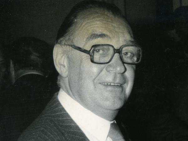 Landbouwkundig ingenieur Water en Bossen Marcel Van Miegroet (1922-2011) was hoofd van het Laboratorium voor Bosbouw in het Proefbos Aalmoeseneie in Gontrode (foto Vera Dua).