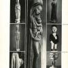 Kunsthistoricus Frans Olbrechts besteedt in zijn boek 'Plastiek van Kongo' onder meer aandacht aan wederzijdse artistieke beïnvloeding tussen westerse en Congolese kunst (uit Olbrechts, 'Plastiek van Kongo', 1946)