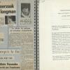 Krantenknipsels en mededeling van Universiteit Gent over overlijden van 'longman' Aloïs Vereecken in 1969, uit een persoonlijk album aangelegd door arts Fritz Derom over 'zijn' eerste geslaagde longtransplantatie ter wereld (privécollectie familie Derom)