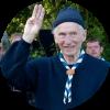 Hoogleraar regionale geografie Frans Snacken (1920-2016) was medestichter van de Gentse zeescouts De Wilde Eend.
