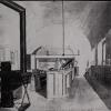 Kopie van de schets van de inrichting van het privélaboratorium van Augsut Kekulé in Gent uit 1865 (Algemeen Rijksarchief?)