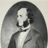 Chemicus August Kekulé ten tijde van zijn huwelijk met Stéphanie Drory in Gent in 1862. (copyright onbekend)
