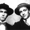 René Victor (r.) en Paul van Ostaijen (l.), hier in 1914, sluiten een levenslange vriendschap op het Antwerps atheneum. Het is via de dichter dat Victor in de Antwerpse kunstscene belandt (foto uit Buyck, 'René Victor,' 1997).