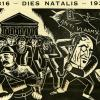 Het Gentsch Studenten Corps organiseerde in 1933 de eerste Dies Natalis van de U