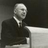 Lucien De Coninck was een enthousiasmerend lesgever en een gewaardeerd woordvoer