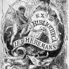 Ex-Libris Jacob Heremans (Collectie Universiteitsarchief Gent).